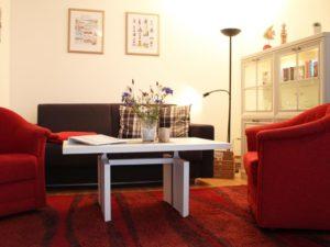 Wohnzimmer Haffblick